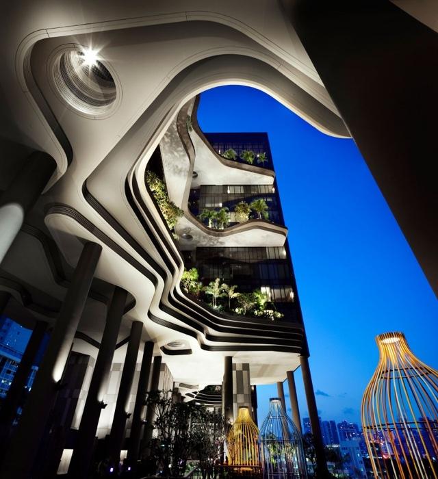 25560523 182306 สวนลอยฟ้า และรูปฟอร์มสวยงาม ที่ PARKROYAL Hotel สิงคโปร์
