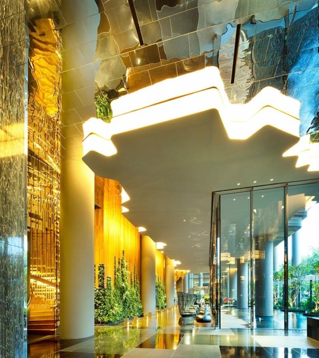 25560523 182401 สวนลอยฟ้า และรูปฟอร์มสวยงาม ที่ PARKROYAL Hotel สิงคโปร์