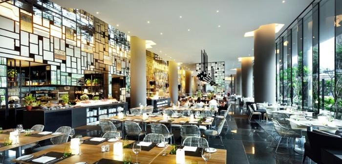 25560523 182456 สวนลอยฟ้า และรูปฟอร์มสวยงาม ที่ PARKROYAL Hotel สิงคโปร์