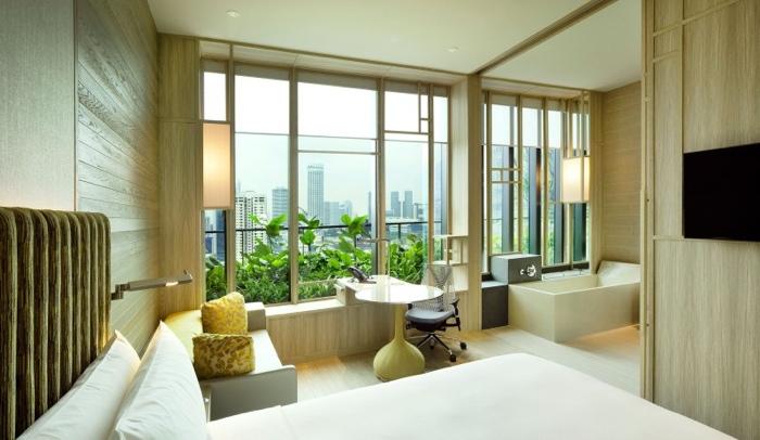 25560523 182604 สวนลอยฟ้า และรูปฟอร์มสวยงาม ที่ PARKROYAL Hotel สิงคโปร์