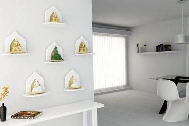 Innolife อินโนไลฟ์ หิ้งพระ หมู่1 เล็กมินิ Mini Buddha Shelf