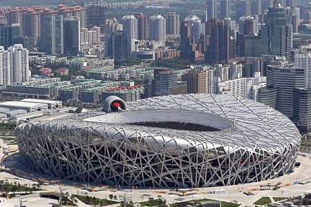 The Beijing National Stadium Bird Nest 5467 450x300 สนามกีฬา Beijing National Stadium, Beijing