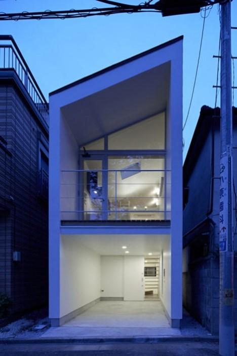 dezeen Park House by another APARTMENT 7 Park House บ้านเล็กๆชานกรุงโตเกียว ที่ต้องใช้พื้นที่อย่างคุ้มค่าที่สุด