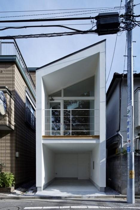 dezeen Park House by another APARTMENT 8 Park House บ้านเล็กๆชานกรุงโตเกียว ที่ต้องใช้พื้นที่อย่างคุ้มค่าที่สุด