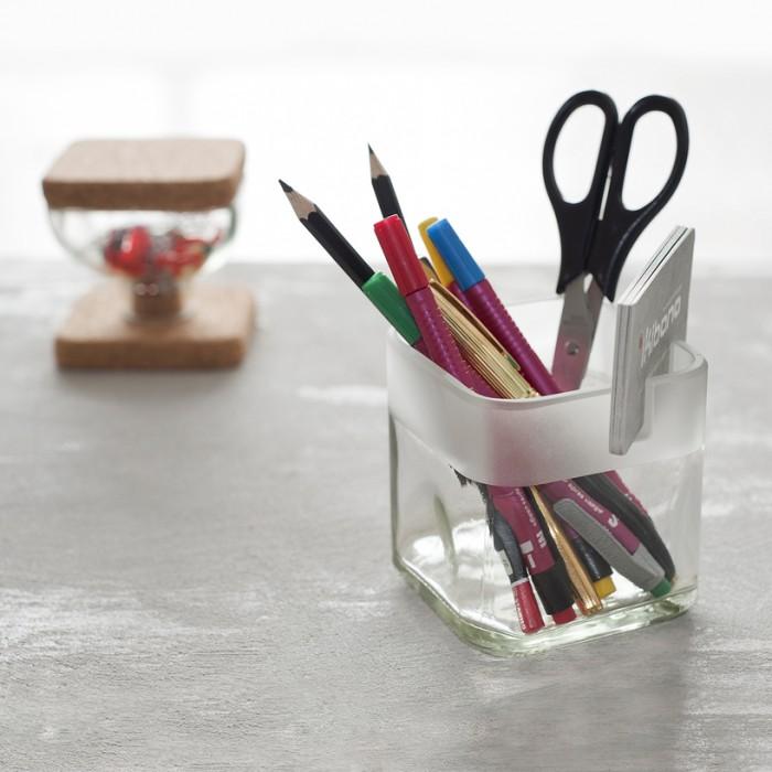 cork + glass desk accessories  13 - Cork