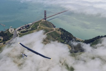 impulse01 450x301 Solar powered aircraft across the USA