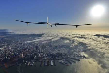 impulse02 450x301 Solar powered aircraft across the USA