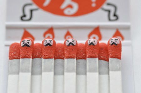 matches01 450x299 matchsticks น่ารักขนาดนี้...จะใช้ลงมั๊ยเนี่ย