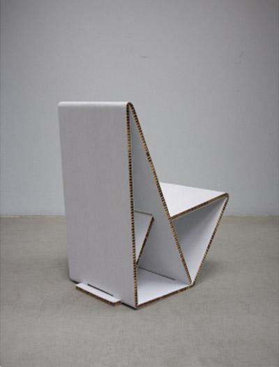 vouwwow41 Vouwwow..เก้าอี้ที่พับได้ง่ายๆจากกระดาษ 1 แผ่น