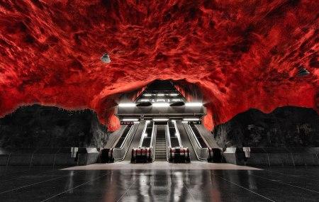 %name world's longest art exhibition @สต็อกโฮล์ม สถานีรถไฟใต้ดินที่ได้ชื่อว่า เป็นแกลเลอรี่ศิลปะที่ยาวที่สุดในโลก