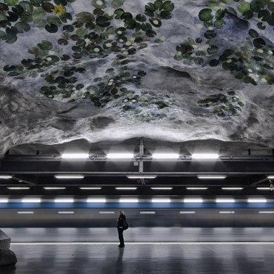 """""""world's longest art exhibition"""" @สต็อกโฮล์ม สถานีรถไฟใต้ดินที่ได้ชื่อว่า เป็นแกลเลอรี่ศิลปะที่ยาวที่สุดในโลก 19 - Exhibition"""