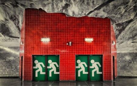 08 450x283 world's longest art exhibition @สต็อกโฮล์ม สถานีรถไฟใต้ดินที่ได้ชื่อว่า เป็นแกลเลอรี่ศิลปะที่ยาวที่สุดในโลก