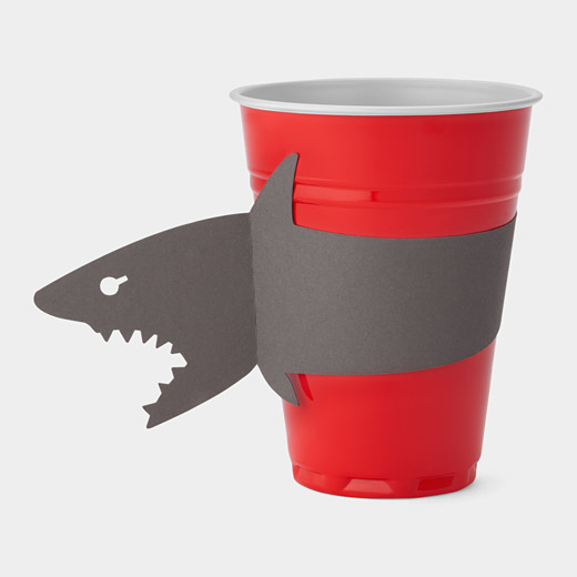 Cup with bite 13 - animal
