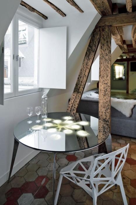 25560607 191609 บ้านเก่าอายุ 200 ปี ปรับปรุงใหม่ใจกลางกรุงปารีส
