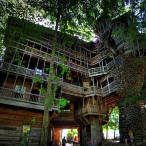 บ้านต้นไม้จากไม้เก่า ใช้เวลาสร้างกว่า 11 ปี แบบไม่ต้องมีพิมพ์เขียว โดยพระที่เป็น Landscape Architect 17 - Minister's Treehouse