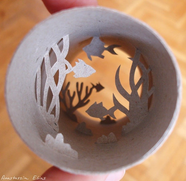 25560621 182141 ศิลปะบนแกนกระดาษทิชชู โดย Anastassia Ellias