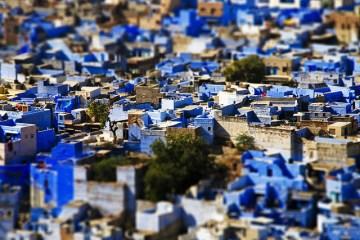 """Bule City """"เมืองสีฟ้า""""กลางทะเลทราย ในประเทศอินเดีย 14 - Bule City"""