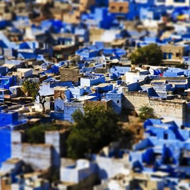 """Bule City """"เมืองสีฟ้า""""กลางทะเลทราย ในประเทศอินเดีย 16 - Bule City"""