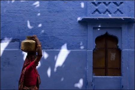 6404085195 ebb4dfefde z 450x300 Bule City เมืองสีฟ้ากลางทะเลทราย ในประเทศอินเดีย