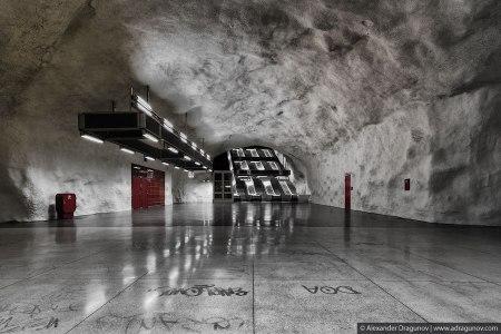 66 450x300 world's longest art exhibition @สต็อกโฮล์ม สถานีรถไฟใต้ดินที่ได้ชื่อว่า เป็นแกลเลอรี่ศิลปะที่ยาวที่สุดในโลก