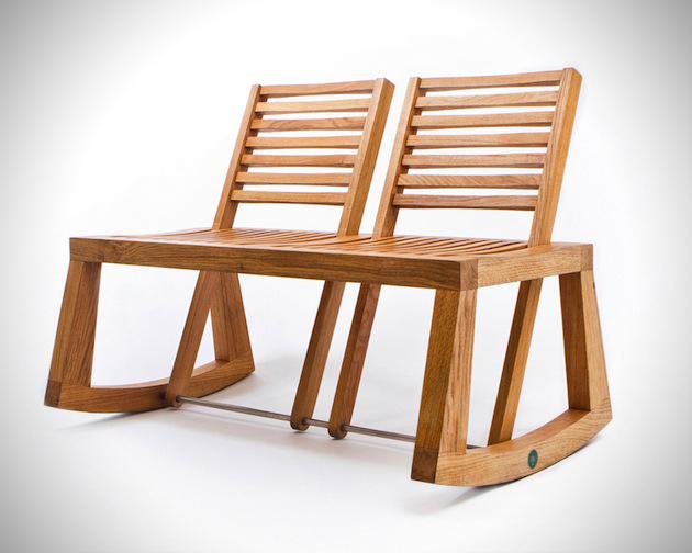 Flexible Design of The Double View Bench 3 DOUBLE VIEW BENCH ..ม้านั่งปรับนั่งได้ 2 ด้าน