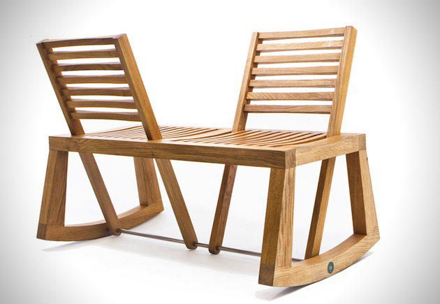 Flexible Design of The Double View Bench 4 DOUBLE VIEW BENCH ..ม้านั่งปรับนั่งได้ 2 ด้าน