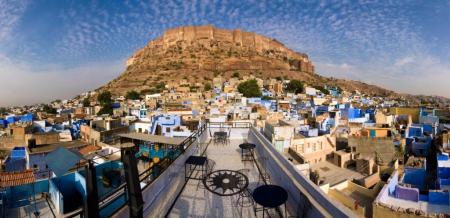 %name Bule City เมืองสีฟ้ากลางทะเลทราย ในประเทศอินเดีย