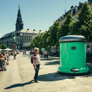 GIANT BIN TO KEEP COPENHAGEN GREEN 20 - bin