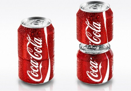 coke sharing can 450x315 Two in one,Coke Sharing Can