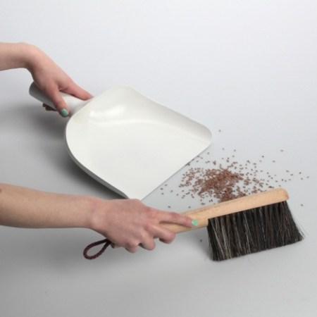 image 450x450 Sweeper and Dustpan เรียบง่ายหลายฟังก์ชัน