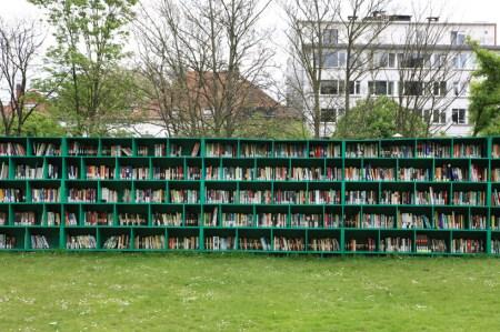 mb4 450x299 Bookyard by Massimo Bartolini ห้องสมุดสาธารณะกลางแจ้ง บนพื้นที่สีเขียว