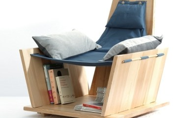เก้าอี้ Armchair นั่งสบายๆ พร้อมที่เก็บของ สำหรับช่วงเวลาพักผ่อน 2 - armchair