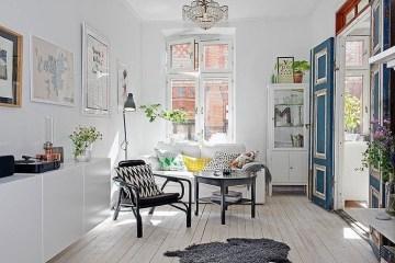 อพาร์ตเม้นต์ในเมืองสต็อกโฮม..เรียบง่าย แต่งดงาม..มาก:) 12 -