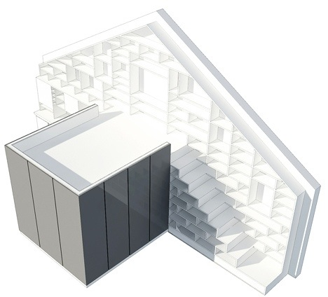 25560714 103734 ผนังและบันได เป็นชั้นวางของ ห้องน้ำเป็นผนังกั้นห้องและมีห้องนอนข้างบน..เพิ่มพื้นที่ และใช้ประโยชน์ได้คุ้มจริงๆ