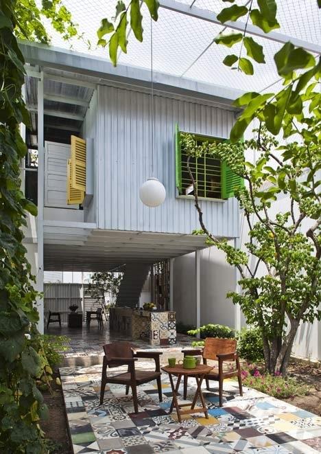 The Nest by  a21studio..ด้วยสีเขียวของต้นไม้และการใช้พื้นที่ที่ดี..บ้านก็น่าอยู่ และดูดีได้ โดยไม่แพง 13 -