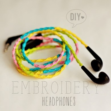 DIY: ถักเชือกหุ้มสายหูฟัง ..เพิ่มสีสันไม่ซ้ำใคร 15 - DIY