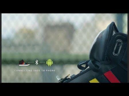51463fb1c177c 450x337 Google + Adidas = Talking Shoes
