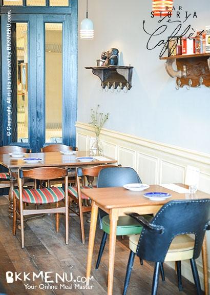 6375 79084 Bar Storia del Caffe' ร้านกาแฟสไตล์อิตาเลี่ยน Italian + ผสมผสานความเป็นวินเทจ Vintage