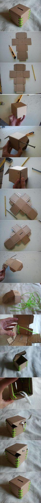 DIY-Cardboard-Piggy-Bank