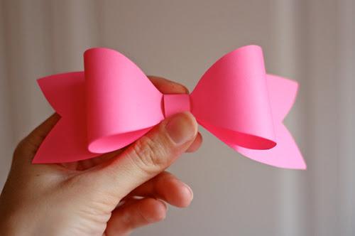 DIY paper bow DIY.Paper bow ติดเก๋ๆบนกล่องของขวัญ