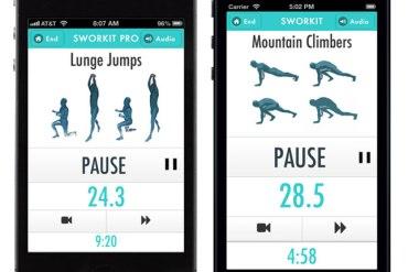 ออกกำลังได้แม้เวลาสั้นๆกับ app,Sworkit 17 - App
