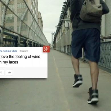 Google + Adidas = Talking Shoes 18 - Adidas