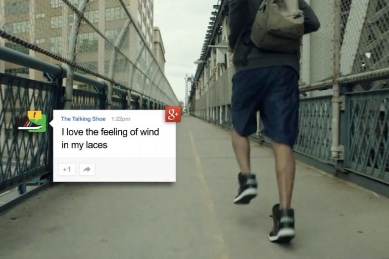 Google + Adidas = Talking Shoes 13 - Adidas