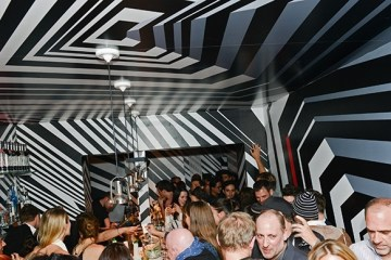 Bar Oppenheimer in New York  บาร์เปรี้ยวจี๊ด ด้วยลายพรางซิกแซ็กสุดพิศวง 2 - Bar Oppenheimer