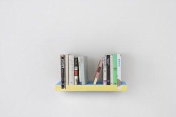 ชั้นหนังสือแนวมินิมอล...ฉลาดคิด ใช้หนังสือเป็นส่วนประกอบ 6 - bookshelf