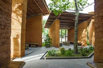 สถาปัตยกรรมเพื่อให้การเรียนรู้ การออกแบบอย่างยั่งยืน ด้วย ไม้ไผ่, ดิน และหิน 10 - Sustainable design