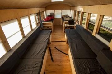เมื่อนักศึกษาสถาปัตย์เปลี่ยนรถโรงเรียนเก่า เป็นบ้านเคลื่อนที่ เดินทางไปทั่วสหรัฐอเมริกา 12 - รีไซเคิล