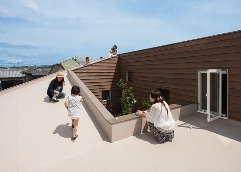 """House J"" ออกแบบจากโจทย์ผู้ต้องการความเป็นส่วนตัว และปลอดการมองเห็นจากบุคคลภายนอก  13 - Architecture"