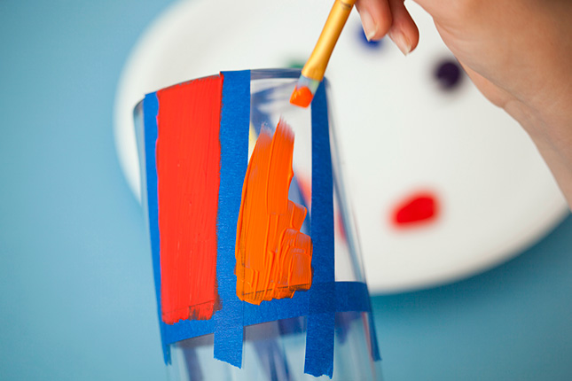 rainbow painting DIY.Pop Up Pencil Holders  ที่ใส่ดินสอแสนน่ารัก 3 แบบ