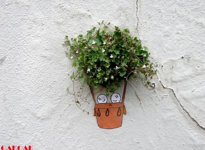 งานStreet Art ฉลาดๆที่ทำให้คนเห็นอารมณ์ดี 24 - street art